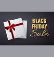 black friday sale golden glitter sparkleopen vector image vector image