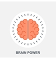 Brain Power vector image vector image