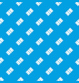chocolate pattern seamless blue vector image vector image