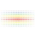 diploma spectrum halftone matrix vector image