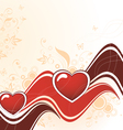 heart abstract vector image vector image