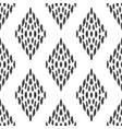 ikat seamless pattern in ethnic style vector image vector image