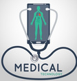 Medical Technology Poster vector image