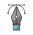 pen tip vector image