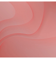 red background with waves vector image vector image