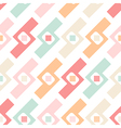 Seamless pastel geometric elements pattern vector image vector image