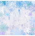 Snowy Winter Background vector image vector image