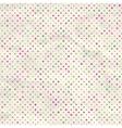 Vintage Polka Dots Background vector image vector image