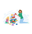 woman babysitting and playing with children