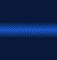 abstract blue diagonal striped header vector image vector image