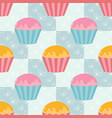 colorful seamless pattern of cute drops on a vector image vector image
