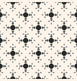 minimalist seamless pattern circles triangles vector image vector image
