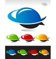 Swoosh Bubble Logo Icon vector image vector image