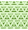 Tribal green seamless pattern vector image