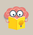 Brain Read vector image