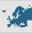detailed map of europe vector image vector image