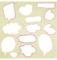 Hand-drawn doodle banners EPS 8 vector image