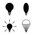 light icon set vector image vector image
