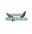 Merry christmas inscription