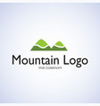 mountain ideas design on background vector image vector image