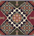 ornamental seamless pattern ethnic vector image vector image