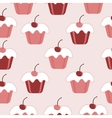 Pattern cakes vector image vector image