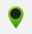 realistic color pointer icon vector image vector image