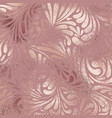 rose gold decorative background with imitation vector image vector image