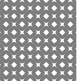 Seamless diagonal rounded square pattern vector image vector image