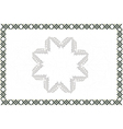 A blank certificate Ready to be filled text vector image vector image