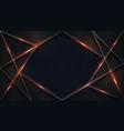 abstract luxury dark background vector image vector image
