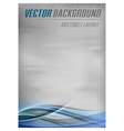 background blue layout bottom vector image