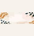 creative minimalist hand draw background vector image