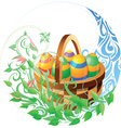 Easter related composition vector image vector image