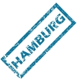 Hamburg rubber stamp vector image vector image