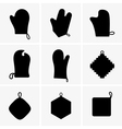 Potholders vector image vector image