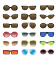 Sunglasses set - 1 vector image