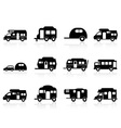 Caravan or camper van symbol vector | Price: 1 Credit (USD $1)