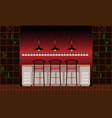 drinking establishment interior of pub cafe or vector image vector image