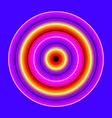 glowing circles vector image
