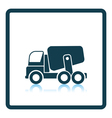 Icon of Concrete mixer truck vector image
