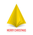 MERRY CHRISTMAS Corner paper 24 vector image vector image