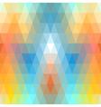Mosaic symmetric seamless vector image