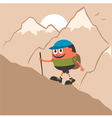 Mountaineering vector | Price: 1 Credit (USD $1)