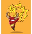 Red Devil vector image vector image