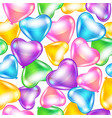 balloons in shape of heart vector image vector image