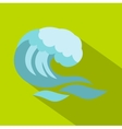 Big wave icon cartoon style vector image vector image