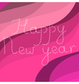 Curly HNY vector image vector image