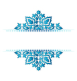 Decorative Background seventy one vector image vector image