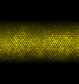 honey comb gold background with grunge effect vector image vector image